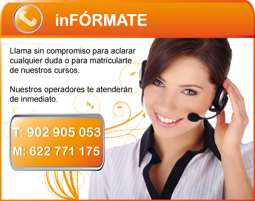 Inf&oacute;rmate gratis y sin compromiso.
